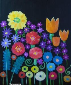 urs paintings flowers 2009z