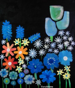 ursularoma paintings flowersz